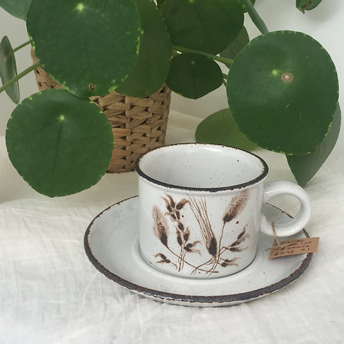Midwinter coffee cup and saucer