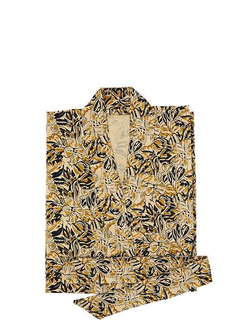 Cotton Kimono (mustard)