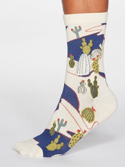 Cactus socks white (organic cotton)