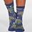 Thumbnail: Cactus socks blue (organic cotton)