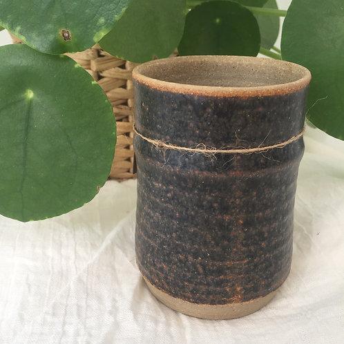 Little brown vase