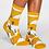 Thumbnail: Cactus socks yellow (organic cotton)