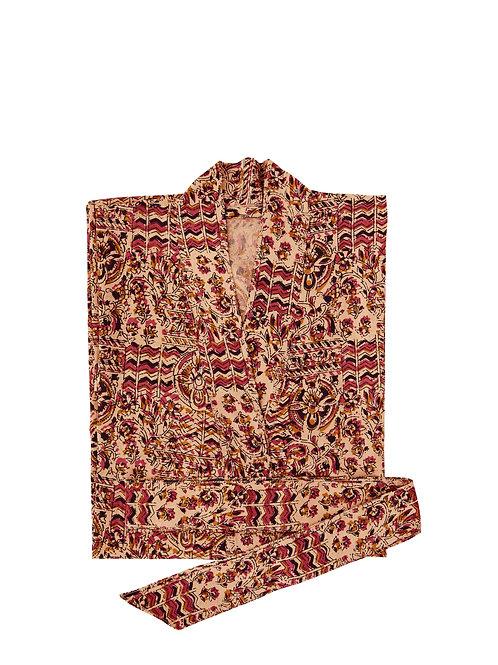Cotton kimono (dusty pink)