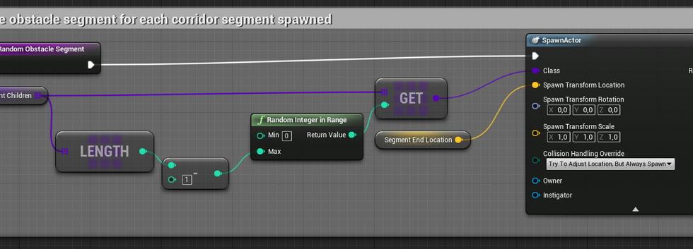 Randomize Obstacle Segment Spawn