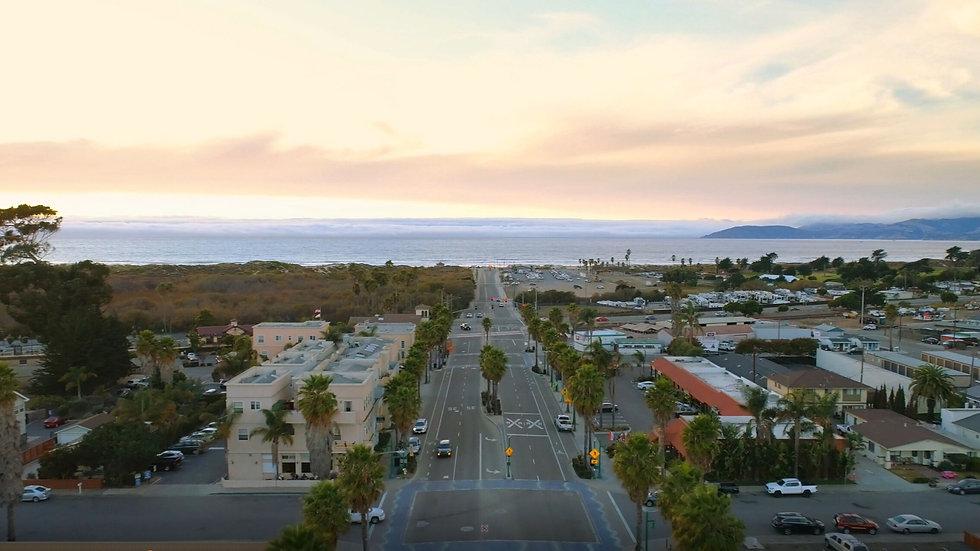 grover beach california west end aerial