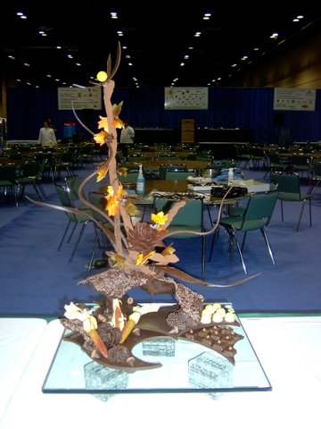 Autumn Chocolate Showpiece