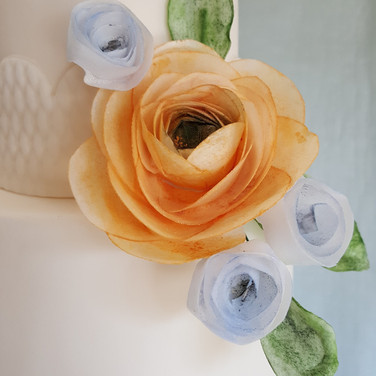 Wafer Paper Ranunculus