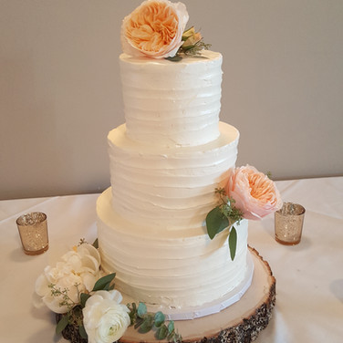 Taty's Buttercream Romanctic Cake