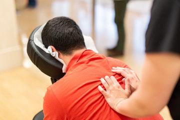 Back & Shoulder Rub