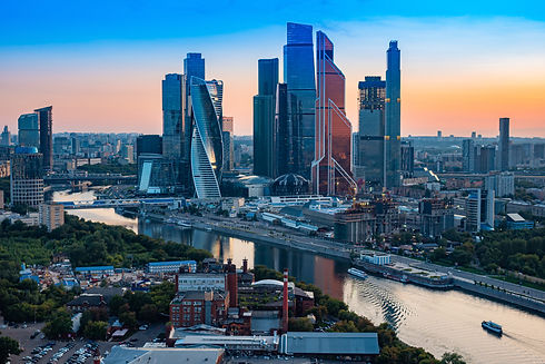 Moscow. Russia. Moscow city aerial view.