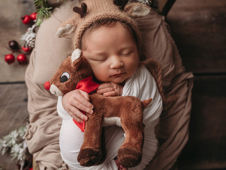 Kansas City Newborn Photographer | Landon's In-home Newborn Session