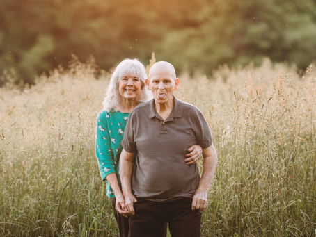 Kansas City Family Photographer | 50th Anniversary Photoshoot