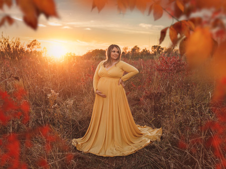 Kansas City Maternity Photographer | Sunset Maternity Session