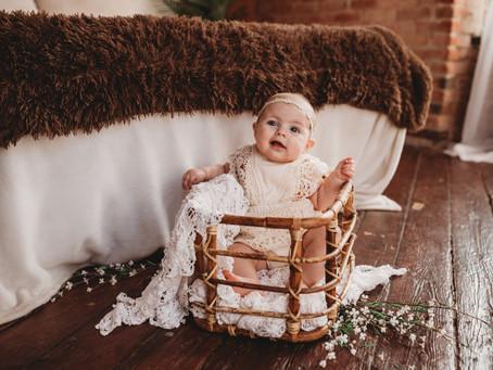 Kansas City Baby Photographer   Wrenley's Milestone Session