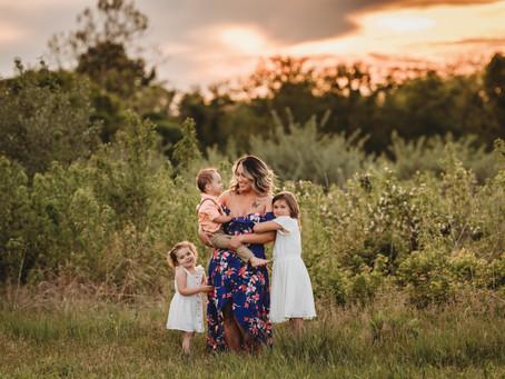 Blue Springs MO Family Photographer | Alicia's Family Session
