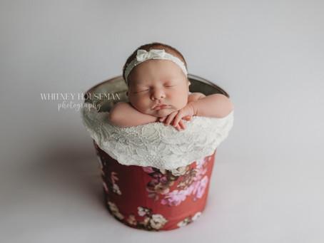 Liberty, Missouri Newborn Photographer | Andi's Newborn Session