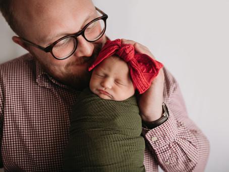 Kansas City Newborn Photographer | Ximena's In-Home Newborn Session