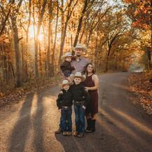 kansas city family photographer, kansas city photographer, blue springs family photographer, sunset photographer, golden hour photoshoot, kansas city maternity photographer