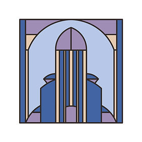Pattern Graphics - Blue & Purple