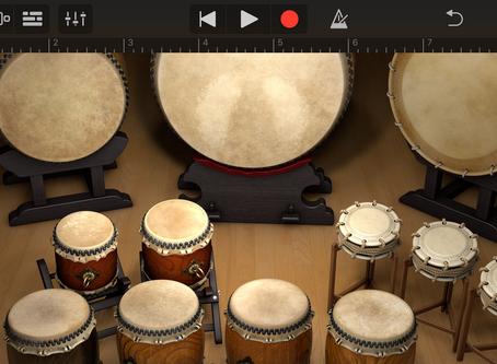 iPhoneアプリ「GarageBand」で音色変更♪