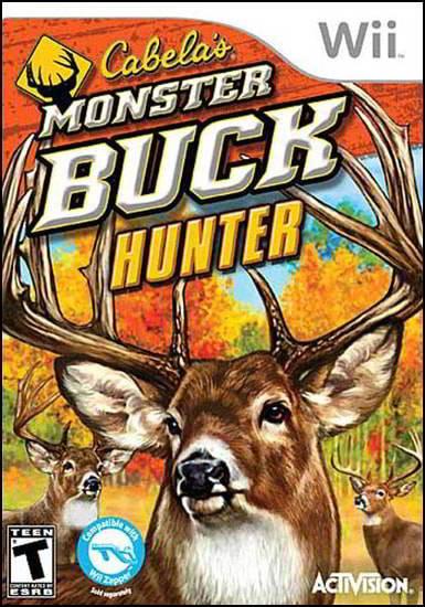 Cabela's Monster Buck Hunter (Wii)