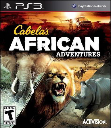Cabela's African Adventures (Wii PS3 Xbox360 Steam)