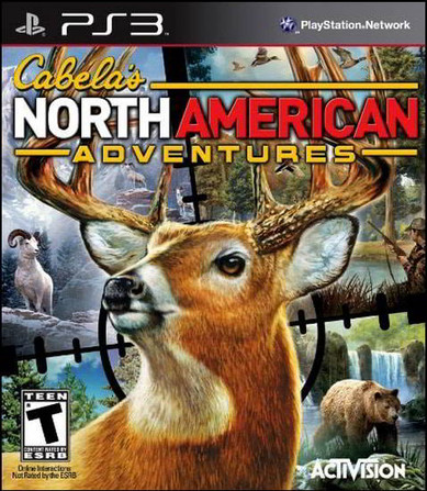 Cabela's North American Adventures (Wii PS2 PS3 Xbox360 PSP)
