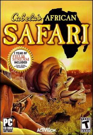 Cabela's African Safari (PC PS2 Xbox360 PSP)