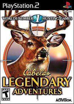 Cabela's Legendary Adventures (Wii PS2 PSP)