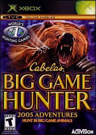 Cabela's Big Game Hunter 2005 Adventures (PC PS2 Xbox NintendoGameCube)