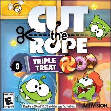 Cut the Rope: Triple Treat (Nintendo3DS)