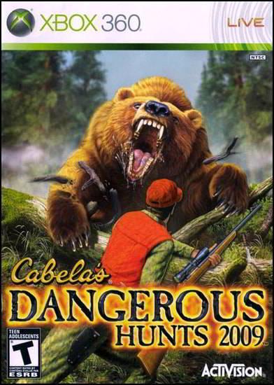Cabela's Dangerous Hunts 2009 (Wii PS2 PS3 Xbox360)