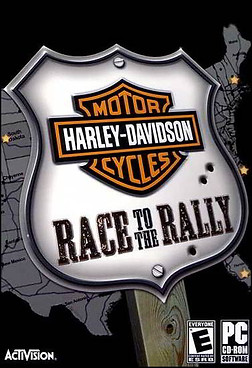 HARLEY-DAVIDSON: Race to the Rally (PC PS2)