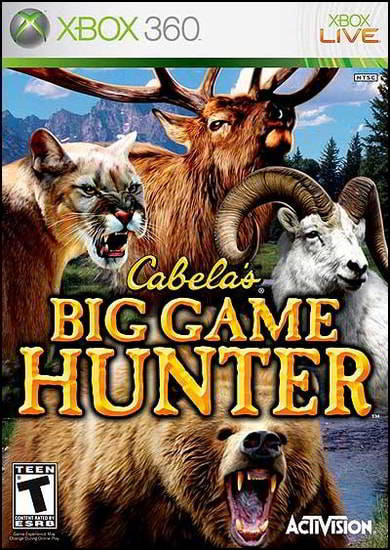Cabela's Big Game Hunter (Wii PS2 Xbox360)