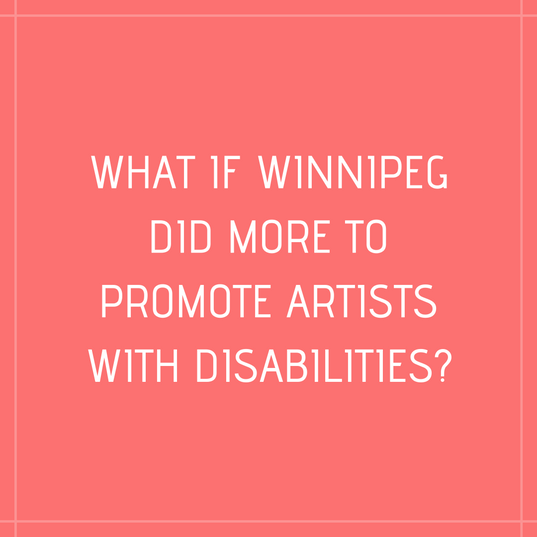 What if Winnipeg promoted more women art