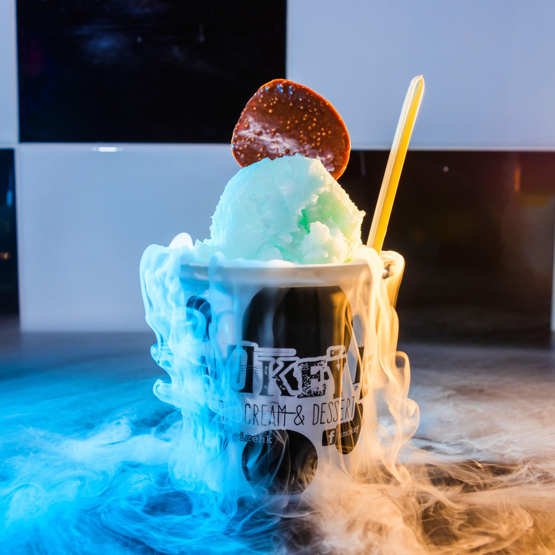 Smokey ice cream Package B 適合150-200人