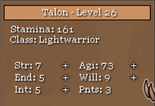 Age of the Four Clans levelling up