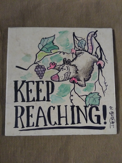 Keep Reaching!