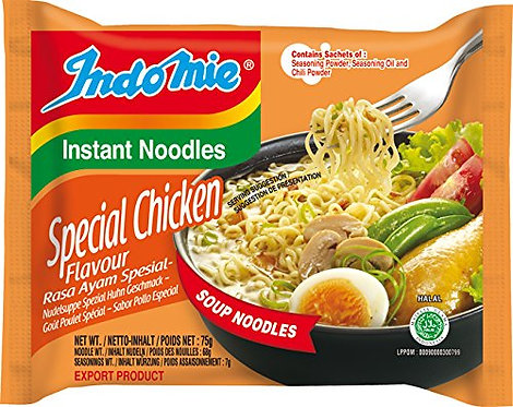 Indomie Noodles - Special Chicken (Indonesia, Halal, 75g)