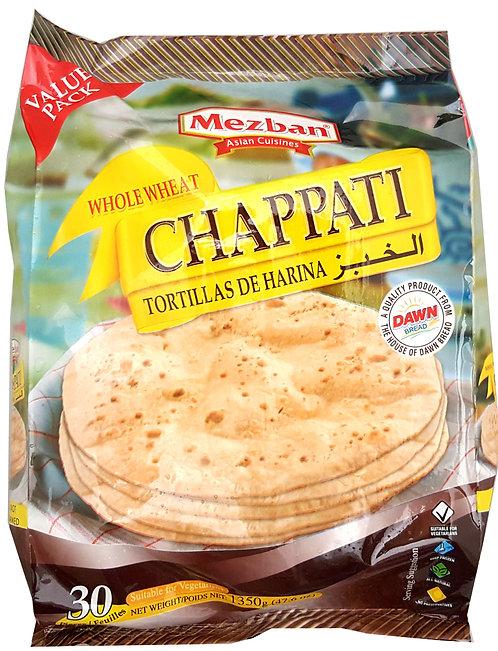 Whole Wheat Chapatti (Bulk pack, 45g*30ea, 1.3Kg)