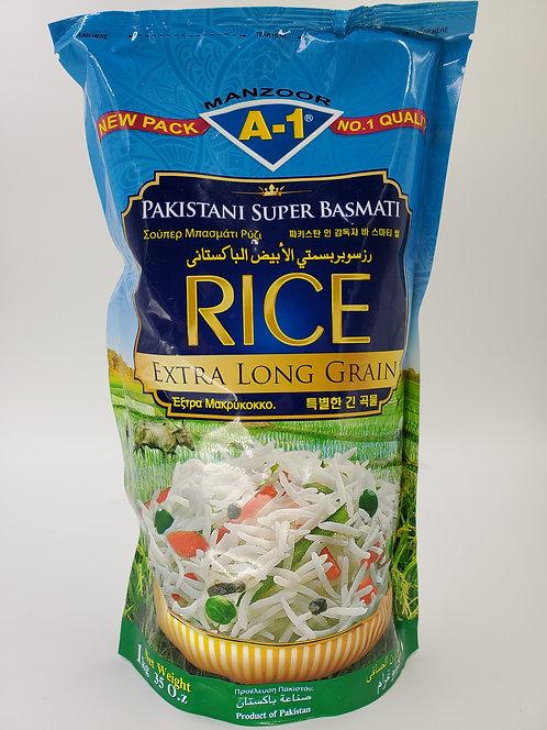 Manzoor Super Basmati Rice - 1Kg