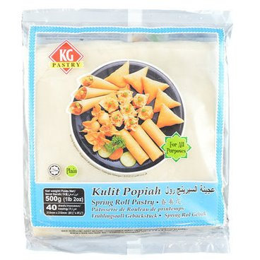 Spring Roll Pastry (Jakim Certified, 8.5 Inch*40EA)
