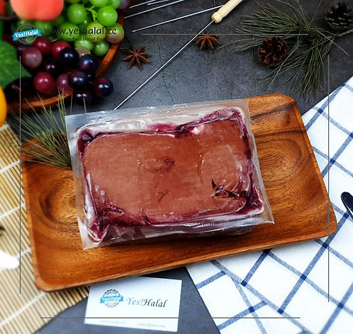 Halal Lamb Liver (Colac Victoria Brand, 1Kg - 600won/100g)