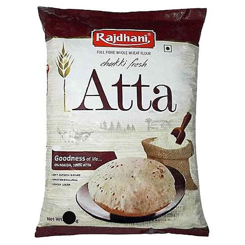 Atta Whole Wheat Flour (Rajdhani) - 1kg