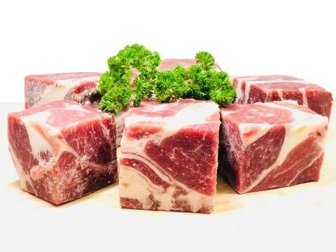 Halal Lamb Hind Leg (Big Cube Cut, Low Fat, 1Kg, 1,990won/100g)