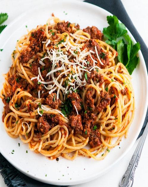 Spaghetti With Beef/Halal Beef Spaghetti