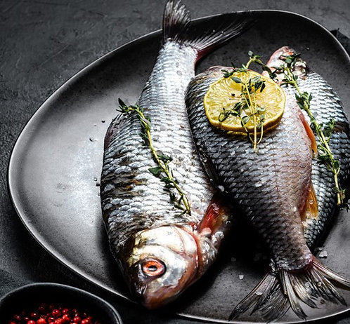 Rohu Fish/Carp (Net 1.5Kg)