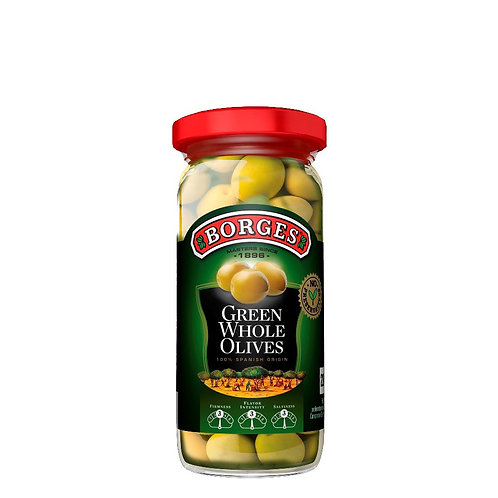 Green Whole Olives (Spain, Borges, 230g)