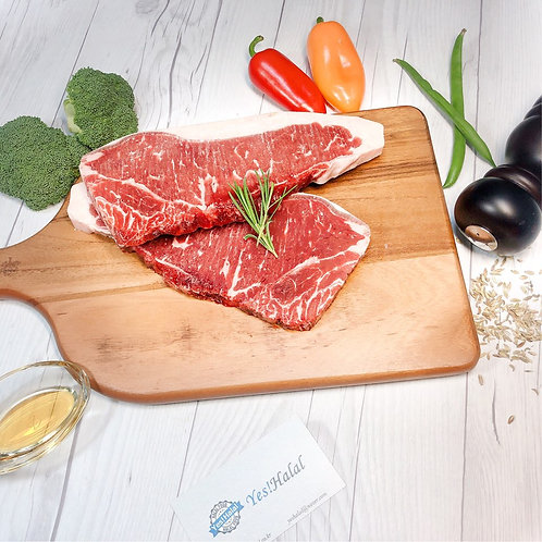 Halal Beef Strip Loin for Beef Steak (1.0Kg - 2,500won/100g)