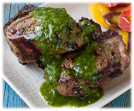 Mint Jelly Sauce : Sauce for grilled lamb or roasted lamb